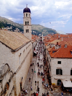Gasse von Dubrovnik