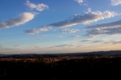 Florenz im Sonnenuntergang