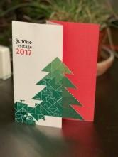 Weihnachtskarte 2017