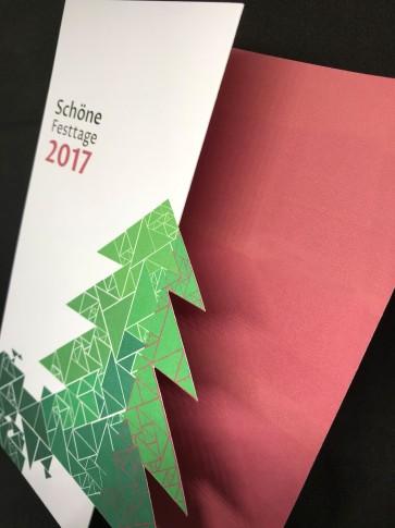 Weihnachtskare 2017